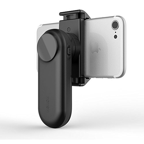 Wewow Fancy Portable Smartphone Gimbal stabilizer with Supplementary Light and Handle (Black) by Wewow (Image #1)