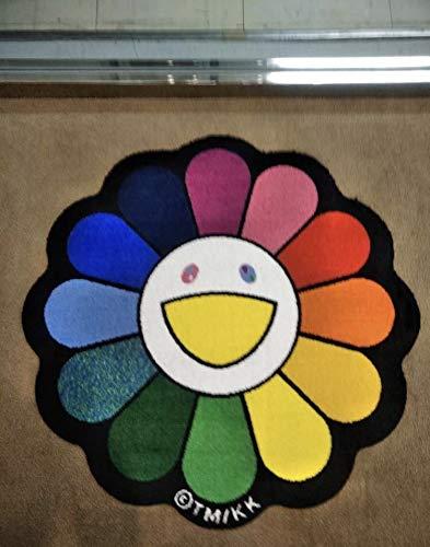 4月6日発売 zingaro フロアマット レインボー 村上隆 takashimurakami flower mat kaikaikiki カイカイキキ   B07R4YHMRV
