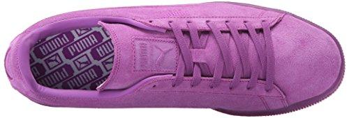 Puma Suede rilievo ghiacciato Fluo Fashion Sneakers Purple Cactus Flower