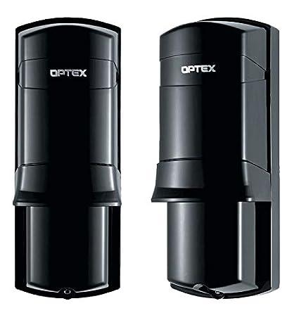 Optex-Barrera de infrarrojos inalámbrica AX 200TFR-Alarma ...