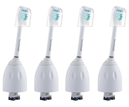 Sonifresh Replacement Heads – Toothbrush Heads For Philips Sonicare E-Series HX7001,4 Pack