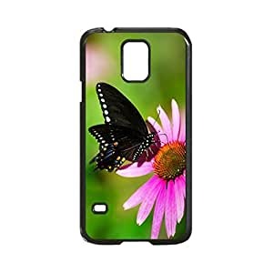 Butterfly In The Sun Customized Photo Design Durable Hard Case Cover For Samsung Galaxy S5 i9600 Regular