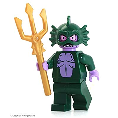 LEGO Scooby Doo Swamp Monster Minifigure from Set 75903: Toys & Games