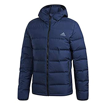 1b4748036022 Amazon.com  adidas Sport Performance Men s Helionic Hooded Jacket ...