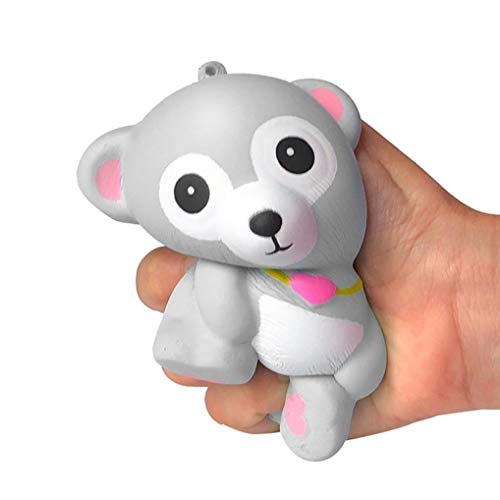 (KpopBaby Squishies Adorable Bear Slow Rising Cream Squeeze Scented Stress Relief)