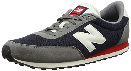 Baskets Navy Balance New d Basses Grey Mixte U410 Multicolore Adulte Atwgxnzqw7