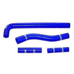 Mishimoto MMDBH-YZ250F-01KTBL Blue Silicone Hose Kit for Yamaha YZ250F/WR250F
