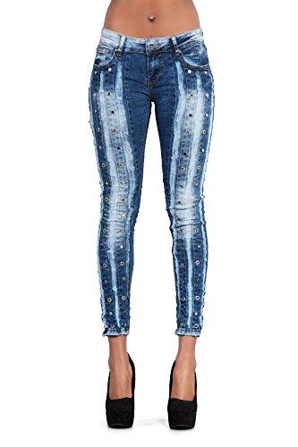 LustyChic - Vaqueros - para mujer Eyelet Jeans