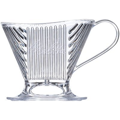 Melitta Signature Series 1-Cup Pour-Over Coffeemaker - Clear -