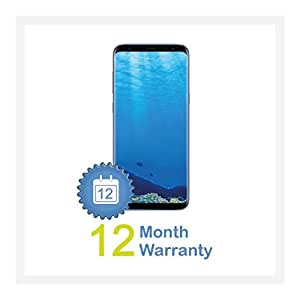 Samsung Galaxy S8+ Plus SM-G955F 64GB Single-SIM Factory Unlocked Android OS 4G/LTE Smartphone (Coral Blue) - International Version