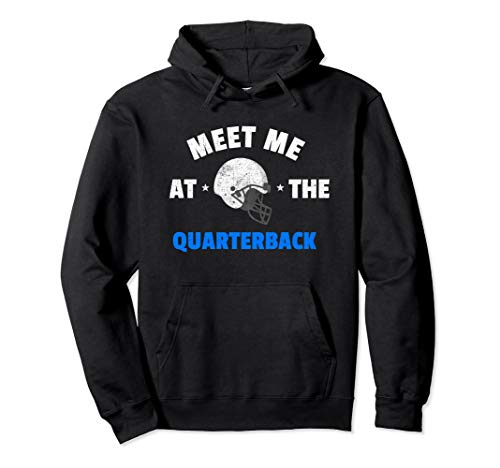 Meet Me At The Quarterback Defensive Lineman Shirt