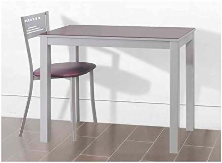 Amuebla 656. Mesa DE Cocina DE 90 X 50 CM. Extensible Frontal ...