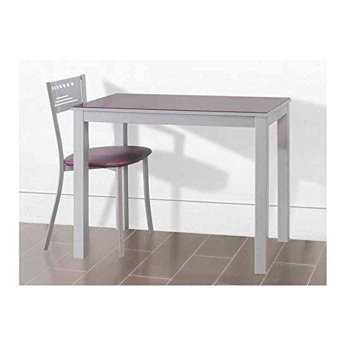 Amuebla 656. Mesa DE Cocina DE 90 X 50 CM. Extensible Frontal.