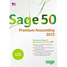 Sage 50 Premium Accounting (Sage Peachtree) 2013 US Edition 5-Users [Old Version]