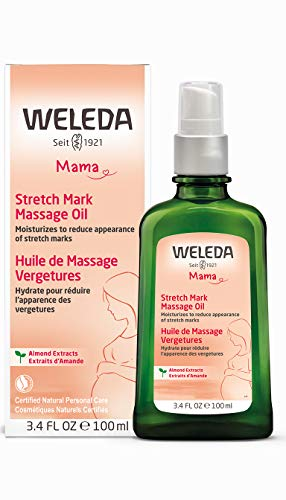 Weleda: Pregnancy Body Oil for Stretch Marks, 3.4 oz (Best Body Lotion To Prevent Stretch Marks)