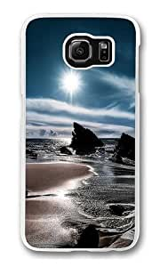 The Black Sea Polycarbonate Hard Case Cover for Samsung S6/Samsung Galaxy S6 Transparent