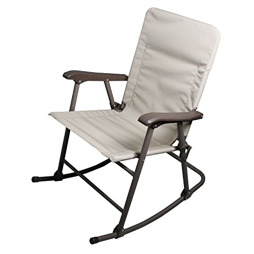 Prime Products 13-6506 Elite Arizona Tan Rocker Folding Chair (Patio In Arizona Furniture Stores)