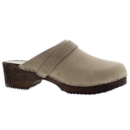 Sandals Emma Moheda Nubuck Womens Grey xnFSnYaXq
