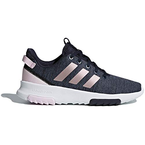adidas Kids CF Racer TR Running Shoe, Legend Ink/Vapour Grey Metallic/Aero Pink, 6 M US Big Kid