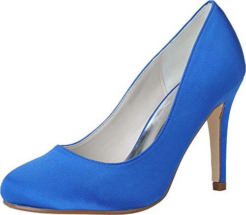 5 EU Find Nice Bleu Compensées Sandales Bleu 36 Femme nfxHwAxCq