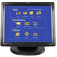Planar Systems 997-3981-00   Model Touch Screen Monitor, PT1500MX, 5-Wire Resistive with Dual Serial/Usb, Supports Msr Kit 997-5618-00, 15 Height, Black