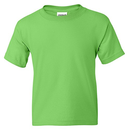 Gildan Dryblend Youth T-Shirt, Lime, Large