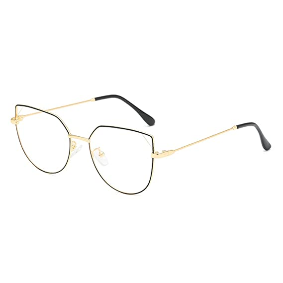 HCFKJ Fashion Square Clear Lens Glasses Vintage Geek Nerd ...