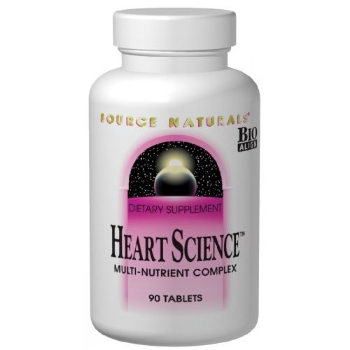Source Naturals HeartScience, A Five-Tiered Approach to Heart Health,120 Tablets