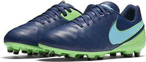 Nike 819186-443, Botas de Fútbol Unisex Adulto Azul (Coastal Blue / Polarized Blue-Rage Green)