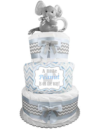 Elephant Diaper Cake - Little...