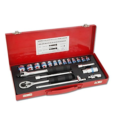 Taparia Socket Set 3/8 Square Drive