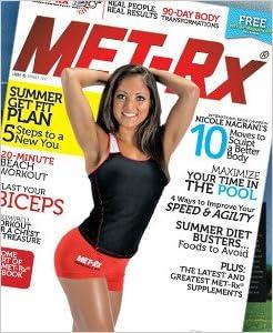 MET-Rx Magazine - Summer Get Fit Plan - Nicole Nagrani's 10