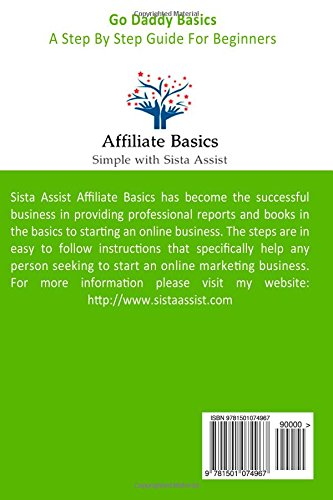 Go-Daddy-Basics-A-Step-By-Step-Guide-For-Beginners-Sista-Assist-Affiliate-Basics-Volume-1