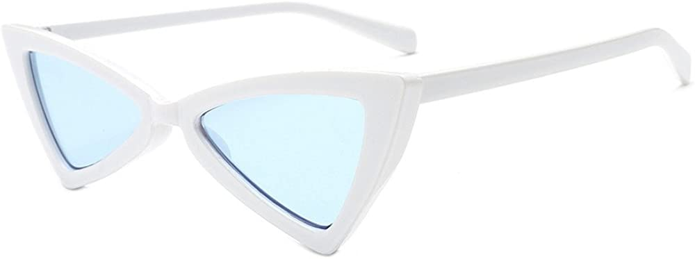 Womens Fashion Vintage Cateye Frame Shades Acetate Frame UV Sunglasses FORUU Glasses