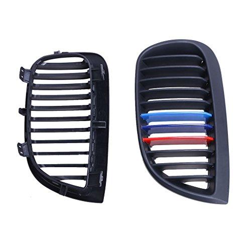 BMW E87 E81 Hatchback  Hood Front Kidney Grille Grills For Matte Black M-color