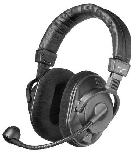 Beyerdynamic DT-290-MKII-200-250 – Auriculares con micrófono hipercardioide dinámico para aplicaciones de radiodifusión (250 ohmios)
