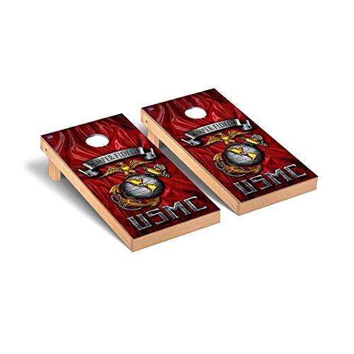 Victory Tailgate US Marine Corps USMC Semper Fidelis Semper Fi Regulation Cornhole Game Set