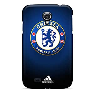 Awesome IUw1890ENmE Elaney Defender Tpu Hard Case Cover For Galaxy S4- Chelsea Fc