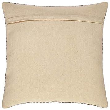 Rivet Modern Texture Throw Pillow – 18 x 18 Inch, Grey