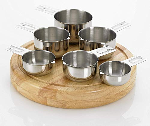 Bellemain Stainless Steel Measuring Cup Set, 6 Piece ()