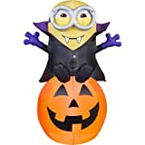 Airblown Gone Batty Minion Halloween Decoration