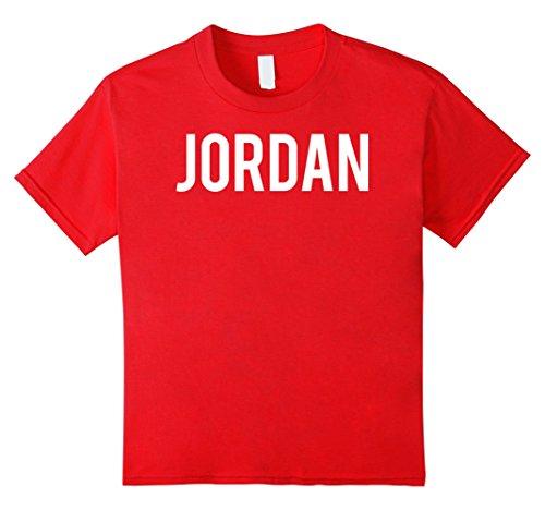 unisex-child Jordan T Shirt - Cool new funny name fan cheap gift tee 4 - Kid Cheap Jordans