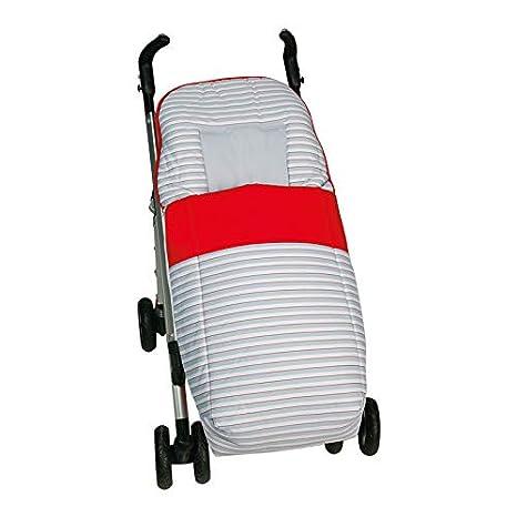 Saco silla paseo universal GRIS. Desmontable en colchoneta y cubrepies. Válido para los diferentes coches del mercado. Bebelovers, Koketes, Mobibe: ...