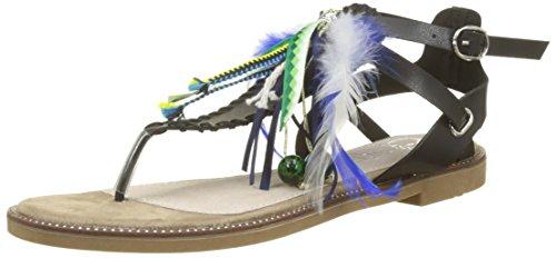 CASSIS COTE D'AZUR WoMen Avia Ankle Strap Sandals Black (Noir)