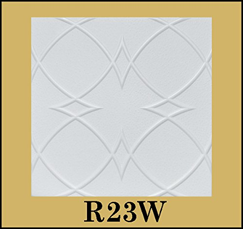 tin-look-glue-up-ceiling-tiles-20x20-styrofoam-extruded-polystyrene-r23w-lot-of-8