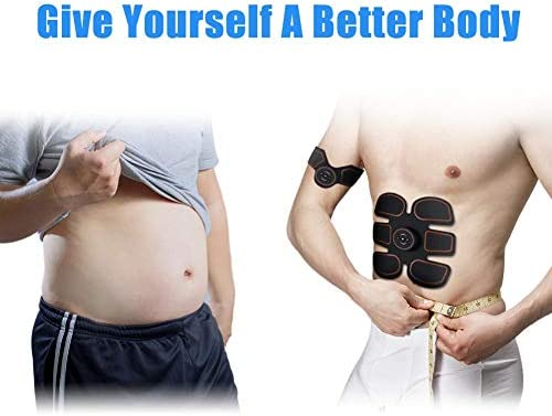 ROKOO Ultimate Abs Stimulator Muscle Stimulator Equipment for Men Women at Home Gym Office Travel 4