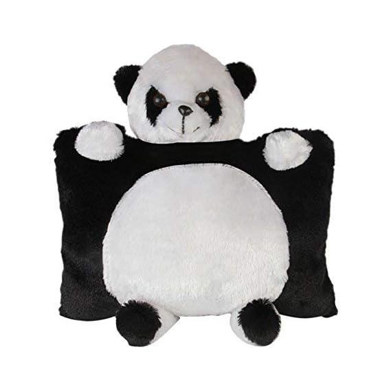 SRT Panda Pillow, Black and White (35cm)