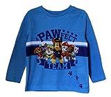TM Paw Patrol Licensed Full Sleeves T Shirt in Blue for Boys Kids