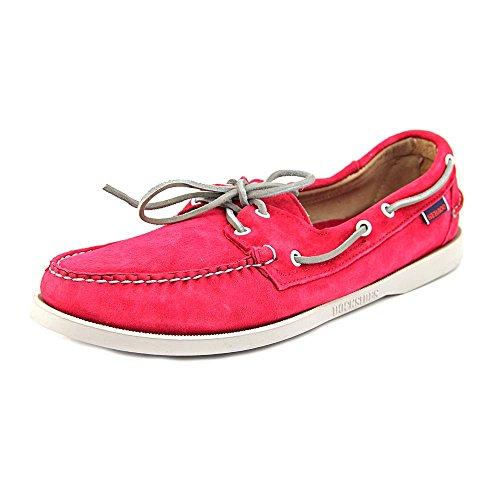 Sebago Men's The Docksides Boat Shoe 12 Red