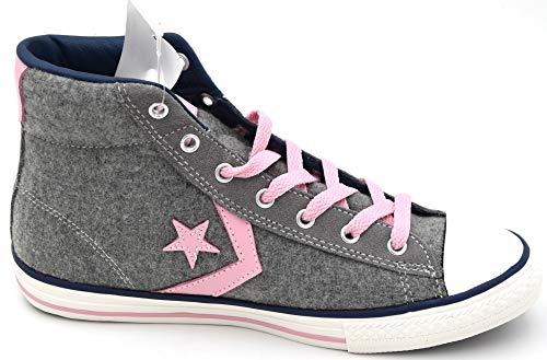 Rosa C628153c Tessuto Art Sneaker Libero Lana Pink Tempo Grey Grigio Donna Scarpa Converse Casual 4YPFFq